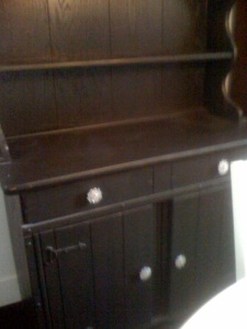 Black Painted Buffet