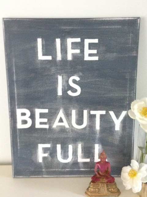 Life is beautiful; Life is Beauty Full!