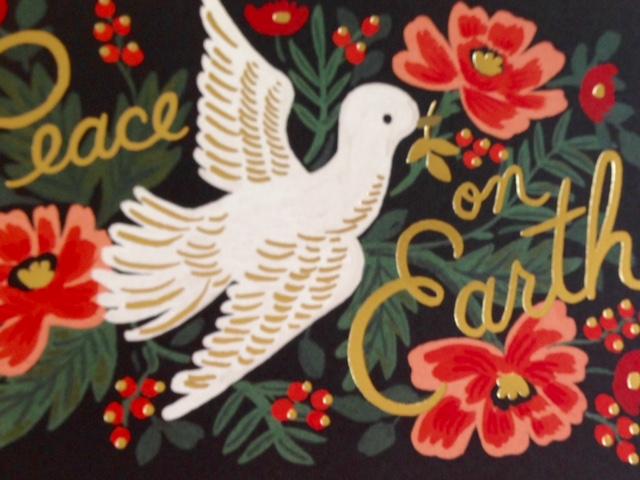 Peace On Earth Postcard - Rifle Paper Company